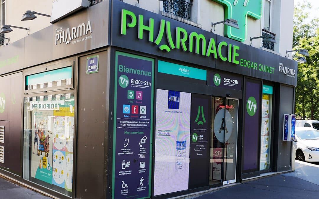 Pharmacie Edgard Quinet Paris XIVème
