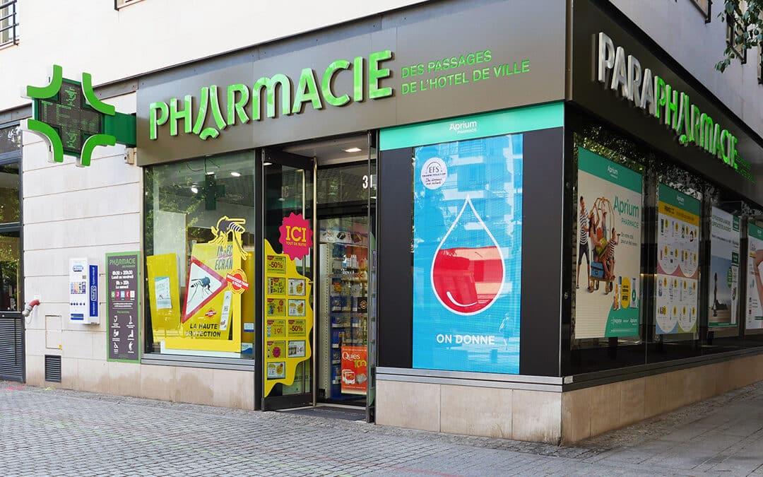 Pharmacie des Passages  de l'Hôtel de Ville Boulogne-Billancourt