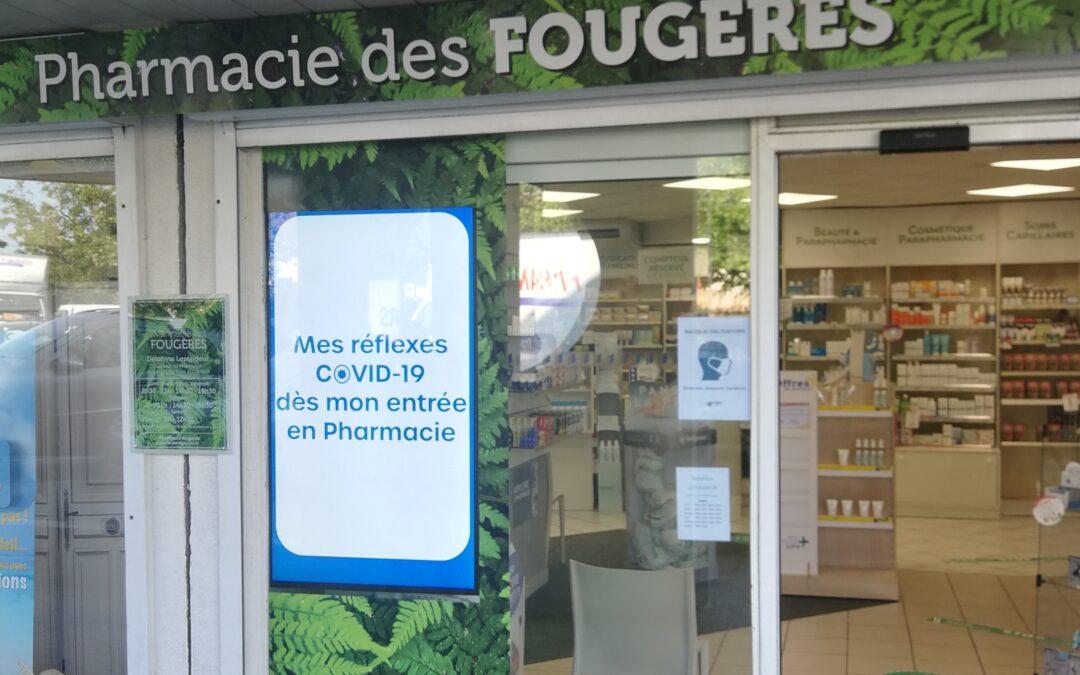Pharmacie des Fougères à Villefontaine