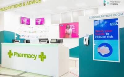 La solution de Communication Digitale Clip Santé de FUTURAMEDIA déployée dans les pharmacies du Royaume Uni